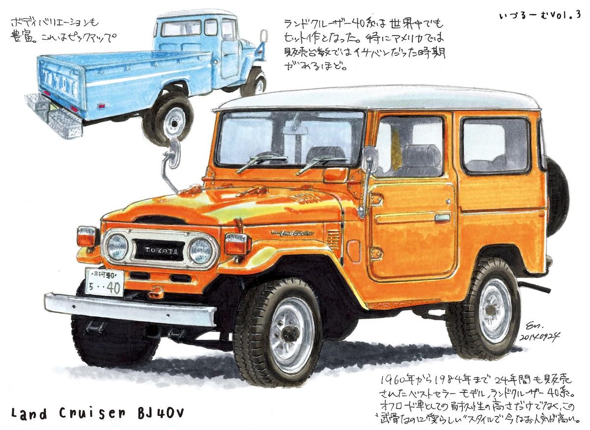 ランドクルーザーBJ40V