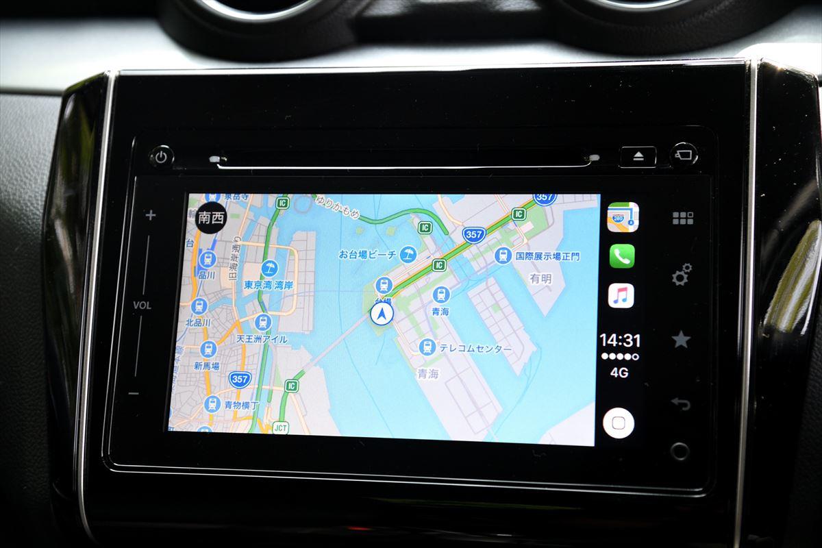 Apple CarPlay マップアプリ
