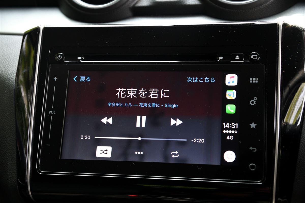 Apple CarPlay ミュージック