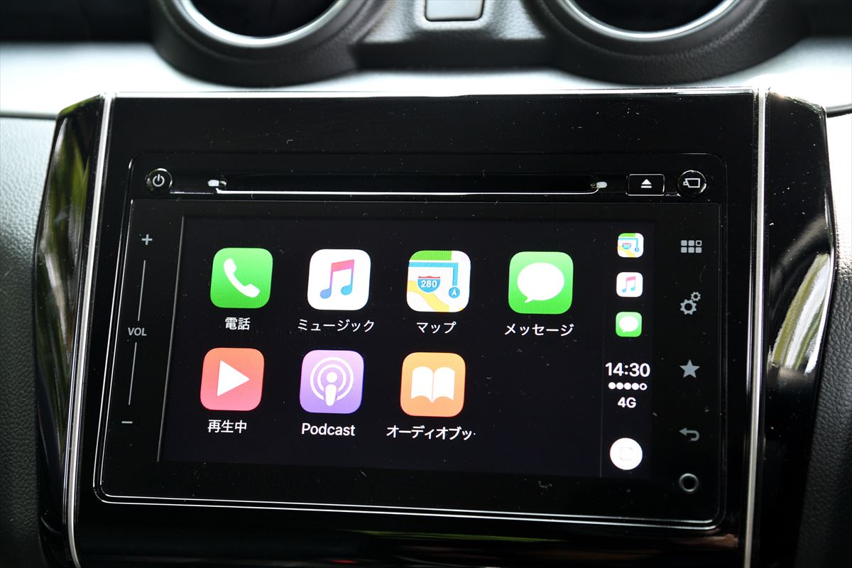 Apple CarPlay アイコン