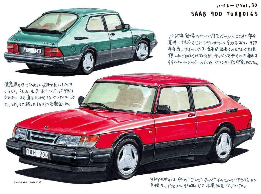 遠藤イヅルのいるづーむ「サーブ900ターボ16S」